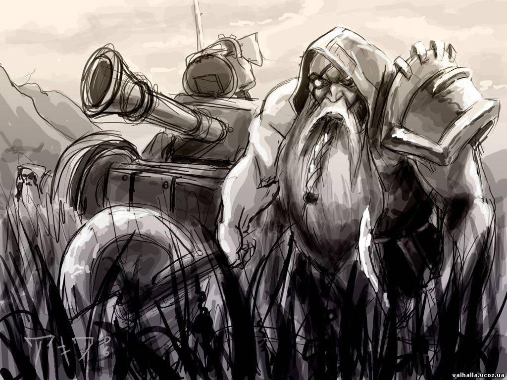 Фэнтези и фантастика в иллюстрациях Техно-гномы.